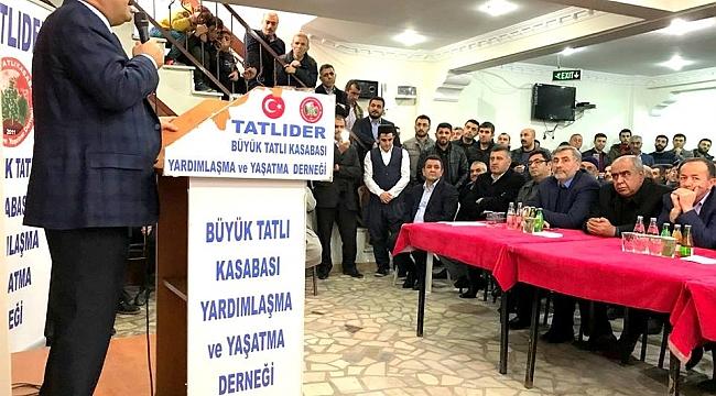 M.İLKER ÇİTİL İSTANBUL'DA HEMŞEHRİLERİYLE BİR ARAYA GELDİ
