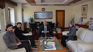 Ak Parti Kahramanmaraş İl Üniversite Teşkilatı, Rektör Deveci'yi Ziyaret Etti.