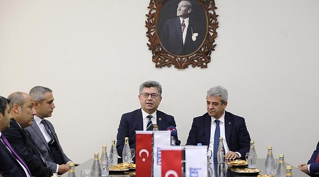 MHP GENEL BAŞKAN YARDIMCISI SEFER AYCAN'DAN KMTSO'YA ZİYARET