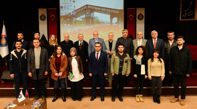 """KSÜ'DE """"BİLİM, DİN VE TÜRKÇÜLÜK"""" KONULU KONFERANS DÜZENLENDİ"""