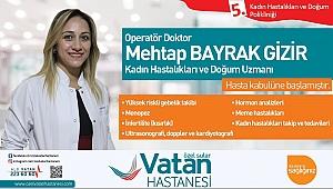 OP.DR. MEHTAP BAYRAK  GİZİR HASTA KABULÜNE BAŞLADI