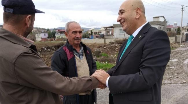 Ak Parti Türkoğlu ilçesinde Veli Ünlü ile devam dedi