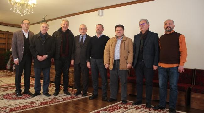 KMBGC'DEN KERVANCIOĞLU'NA 'HAYIRLI OLSUN' ZİYARETİ