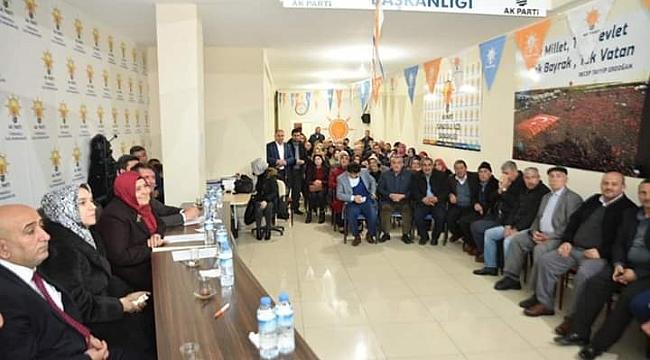 Milletvekili Öçal Türkoğlu'nda vatandaşların sorunlarını dinledi