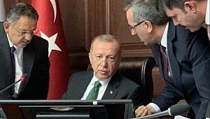 Cumhurbaşkanı Erdoğan'dan Başkan Güngör'e yakın ilgi