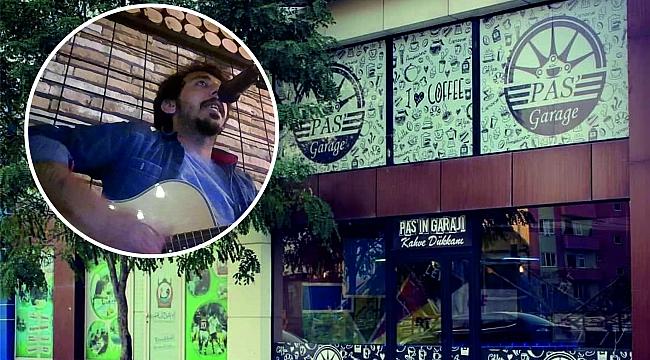 """GÖKSUNUN EN NEZİH MEKAN VE CAFESİ OLAN """"PAS'GARAGE CAFEDE  19 EKİM CUMARTESİ GÜNÜ MURAT CAN BAYSAL CANLI MÜZİK YAPACAK.."""