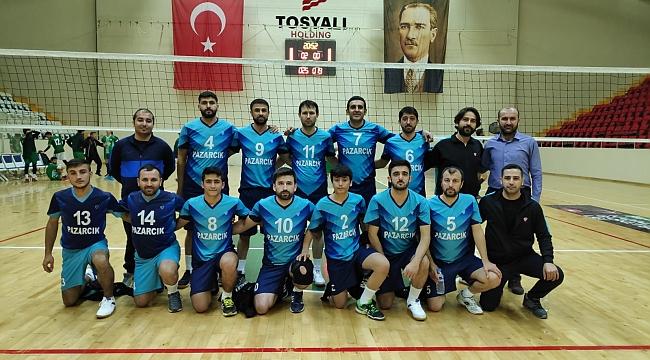 Pazarcık Gençlik Spor Voleybol Erkekler bölgesel lig'de ilimizin tek temsilcisi.