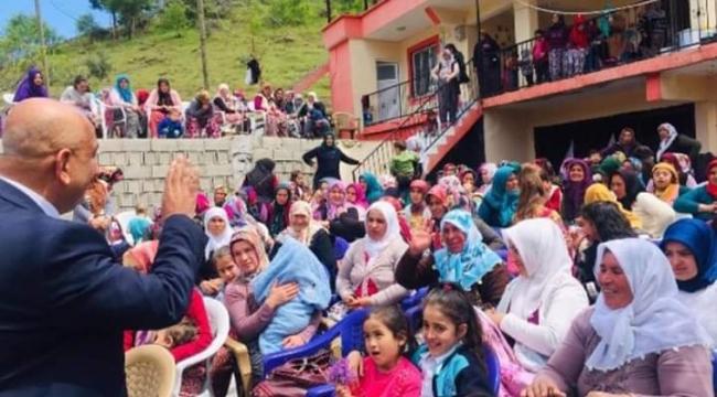 Ak Parti Türkoğlu ilçesinde Veli Ünlü yeniden aday olmuyor