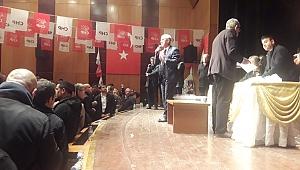 CHP'de 3 Adaylı yarışın kazananı Esat ŞENGÜL ve ekibi oldu