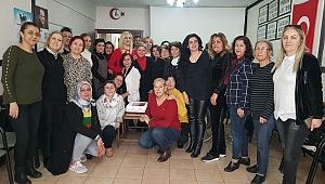 CHP Dulkadiroğlu kadın kolları başkanı Deniz Şengül oldu.
