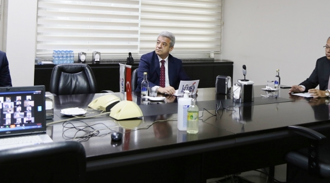 "KMTSO MECLİSİ""VİDEO KONFERANS"" ARACILIĞI İLE TOPLANDI"