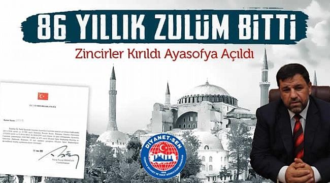 """BAŞKAN BOZDOĞAN; """"GÖZÜMÜZ AYDIN, 86 YILLIK ZULÜM BİTTİ"""""""