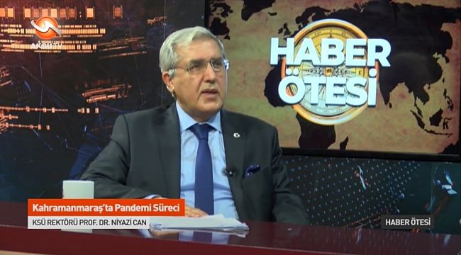ÜNİVERSİTEMİZ BÖLÜM VE PROGRAMLARI AKSU TV'DE TANITILIYOR