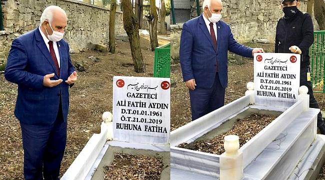 ALİ FATİH AYDIN' A ANLAMLI VEFA