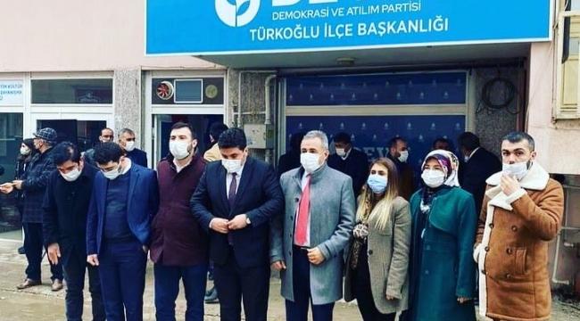 DEVA PARTİSİ KAHRAMANMARAŞ'TA İLÇE KONGRELERİNE DEVAM EDİYOR