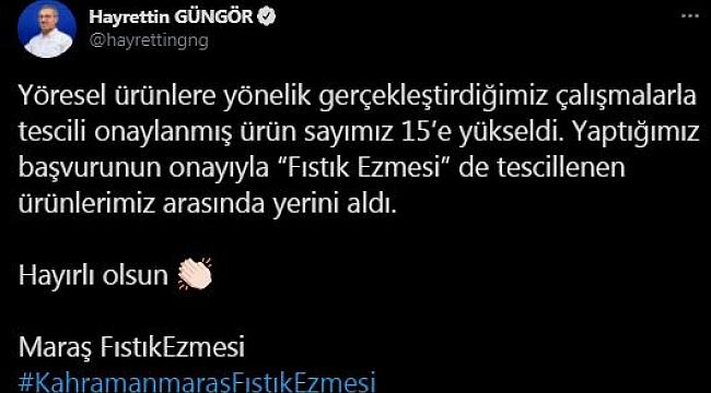 KAHRAMANMARAŞ FISTIK EZMESİ TÜRKİYE GÜNDEMİNDE