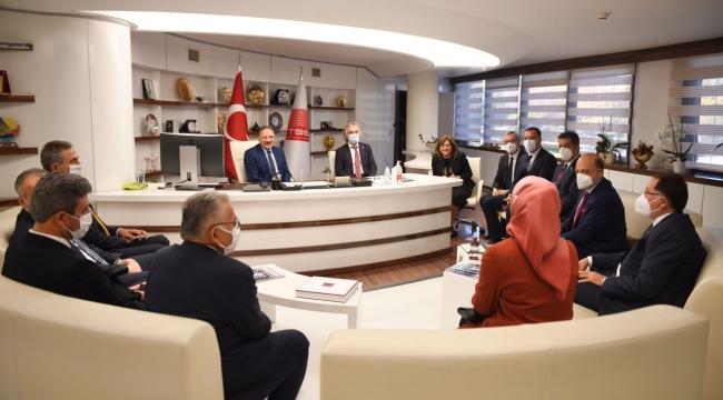Başkan Güngör TBBMeclis Toplantısına Katıldı