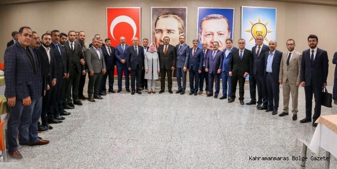 AK Partide ilçelerde heyecan sona erdi.