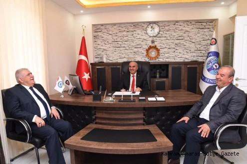 Başkan Mahçiçek'ten STK'lara Nezaket Ziyareti