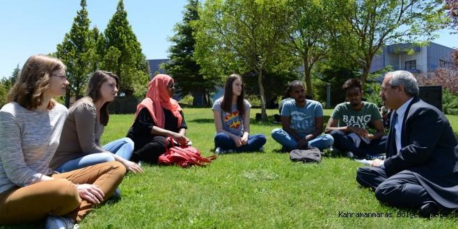 TRT Haber 'Gönüllü Elçiler' Belgeseli, Üniversitemizde